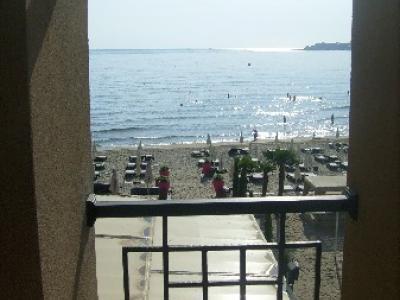 Kilátás a partra